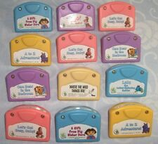 Leapfrog Little Touch cartridge lot of 12 Dr. Seuss Dora Sendak Wild Things Are