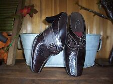LADIES A2 AEROSOLES DRESS SHOES SIZE 6B CASUAL WOMENS CASUAL SHOES FORMAL BROWN