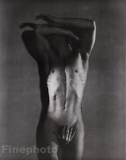 1936/81 Vintage SURREAL MALE NUDE Duotone Photo Art By GEORGE PLATT LYNES 16x20