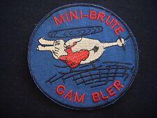Guerre Du Vietnam Patch B Company 4th Aviation Bataillon Mini-Brute Gambler