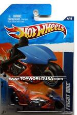 2011 Hot Wheels #124 HW Drag Racers Fright Bike orange