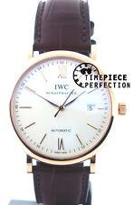 IWC Portofino Automatic 40mm IW356504 3565-04 Mens Watch Rose Gold