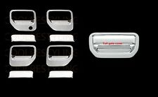 For 06-13 Honda Ridgeline Chrome 4 Doors Handles Covers AND Tailgate Cover