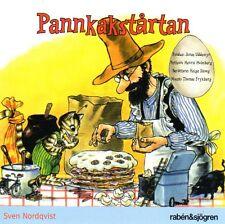 Livre Audio CD Pettersson & Findus Suédois, pannkakstårtan Pettson