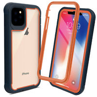 Rugged Armor Case Hybrid Cyrstal Clear Shockproof Cover For iPhone 11 Pro Max