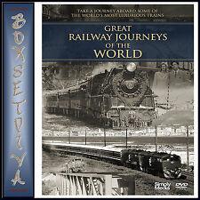 GREAT RAILWAY JOURNEYS OF THE WORLD ** BRAND NEW DVD***