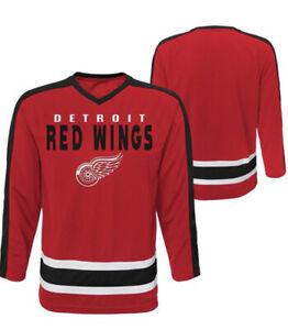 Detroit Red Wings Boys NHL Hockey Jersey Size XS 4/5 Child New