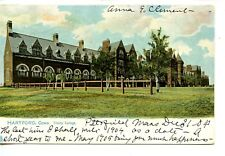 Trinity College Building-Hartford-Connecticut-Vintage 1905 Tuck Postcard