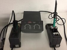 JBC Advanced Dual-Lötstation AD 4300 mit Zubehör Ständer  PA 8120  + PA 8245