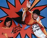 MICHAEL GRAY & JOHN DAVEY Hand Signed SHAZAM! 1974 Autograph 8x10 Photo JSA COA