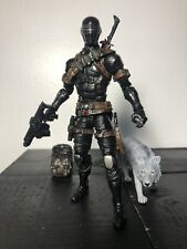 "GI Joe Classified 6"" Custom SNAKE EYES W Custom Timber Wolf G.I. JOE HASBRO"