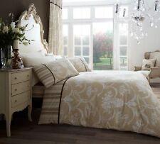 Richmond Luxury DESIGNER Bedding Duvet/quilt Cover Sets 4 Colours 3 Sizes Natural King