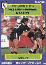 Stimoral Single NRL & Rugby League Trading Cards