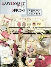 Nancy Halvorsen : EASY DOES IT FOR SPRING Quilting / Sewing Book - 22 Designs!