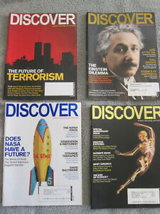 Discover Magazine, 11 issues from 2006 and 2007.