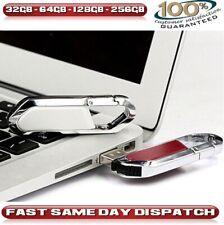 32/64/128/256GB Llavero Usb 2.0 Memory Stick Flash Pendrive Pc/Mac Etc