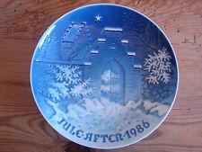 Weihnachtsteller, Bing & Gröndahl, 18cm, 1986
