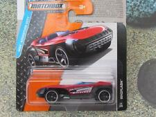 Matchbox 2015 #014/120 Latigazo cervical rojo MBX aventura CITY