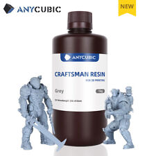 Anycubic 1KG Grey(Grigio) Craftsman Resina for LCD MONO X Stampante 3D 355-410nm