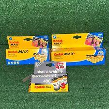 Lot Of Kodak Max Versatility Polyvalence 400 Film 24 Exposures Pack Of 11 35mm