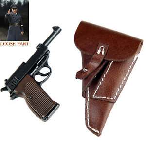 DID D80147 1/6 WWII Luftwaffe Captain Officer Willi Action Figure Pistol Holster