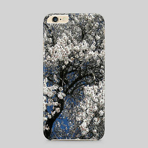 Almond Flower Tree Blossom White Petals Nature Art Van Gogh Phone Case Cover