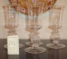 TWO'S COMPANY LEGEND HANDBLOWN WINE GLASSES WITH ELEGANT STEM DESIGN
