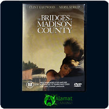 Bridges of Madison County (DVD) Meryl Streep - Clint Eastwood - Drama Romance R4