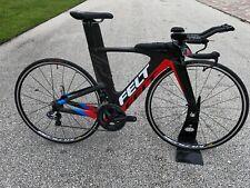 Felt IA FRD Ultegra Di2 48cm Triathlon TT Time Trial Bike Carbon Ironman