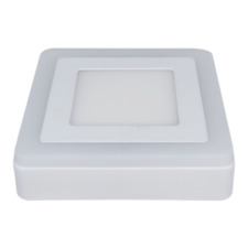 Rother 16w Square Double Coloured Surface LED Panel Light 6500k Daylight White