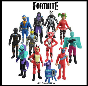 12PCS 4th Fortnite PVC Action Figure Pack Game Toy Doll Fortnight Playset AU