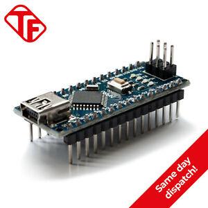 Arduino Nano V3.0 Compatible Soldered Headers Mini USB ATmega328P 16MHz 5V