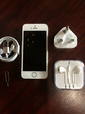 Apple iPhone 5s 16GB Factory Unlocked 4G LTE Smartphone Silver White Pristine