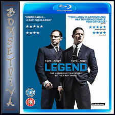 LEGEND -  Tom Hardy & Emily Browning *BRAND NEW BLU-RAY***