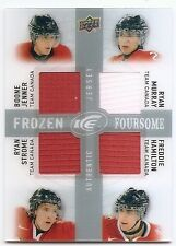 14/15 UPPER DECK ICE FOURSOMES JERSEY Jenner/Murray/Strome/Hamilton #FFCAN2
