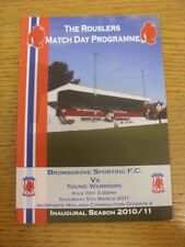 05/03/2011 Bromsgrove Sporting v Young Warriors [1st Season] . Any faults with t