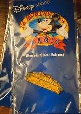 NEW Disney Store 12 Months Of Magic Pins Alameda Street Entrance 2002 Pin Back