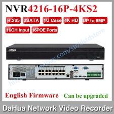 Dahua NVR4216-16P-4KS2 16 Channel 1U 16PoE 4K&H.265 Lite Network Video Recorder