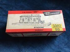 RivaRossi confezione 5502 -Stazione Dubino -Scala HO anni'60