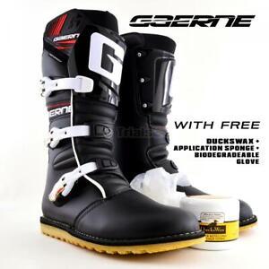 Gaerne Balance Classic Trials Boots - FREE DUCKSWAX FREE Sponge FREE Glove