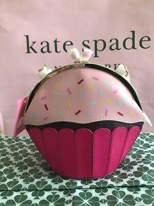 Kate Spade Take The Cake Cupcake Crossbody wkr00050 Multi $249