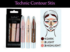 Technic Contour Stix Crayons Bronzer Highlighter Cream Contouring Set Kit