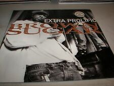 "BROWN SUGAR EXTRA PROLIFIC 12"" Single NM Jive JDCD-42198-1 1994 PROMO"