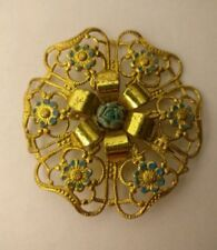 Flowers/Plants without Bead/Stone Brooch/Pin Art Deco Costume Jewellery