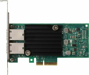 Intel X550-T2 Ethernet Converged Network Adapter PCIe 3.0x16 2 Port