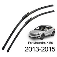 Front Windshield Wiper Blades For Mercedes-Benz GLA250 GLA45 GLA180 GLA200 X156