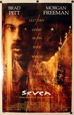 Seven Se7en - original movie poster 27x40 - Brad Pitt Final