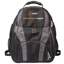 Hammer DEUCE 2 Ball Backpack Bowling Bag Color Carbon Black HOLDS 2 BALLS