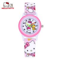 Children's Watch Hello Kitty Cartoon for Kids Girls Wristwatch -FREE SHIPPING