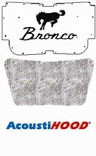 1978 1979 Ford Bronco Under Hood Cover with F-032 Bronco Horse